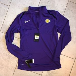 Nike Men's Lakers Pullover Size S - New With Tags!